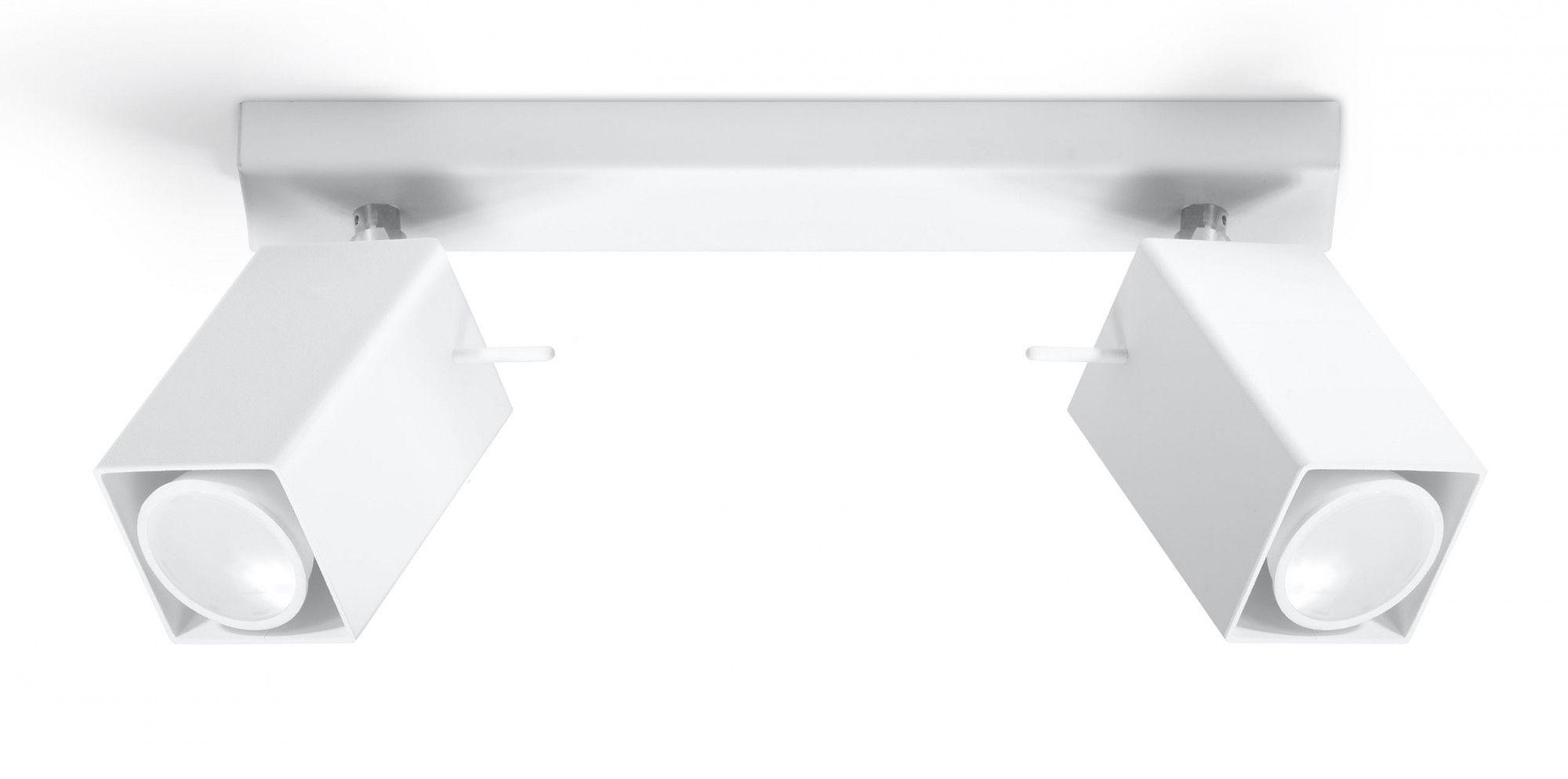 Nowoczesny plafon LED E787-Merids - biały