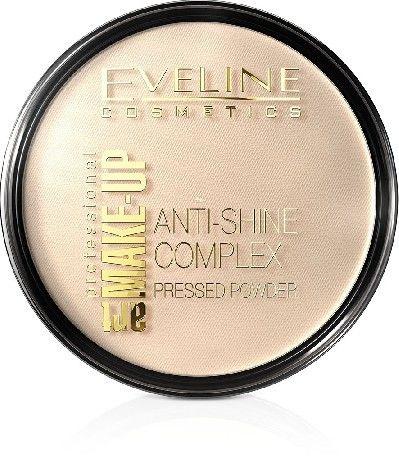 Art Make-Up Anti-Shine Complex Pressed Powder matujący puder mineralny z jedwabiem 33 Golden Sand 14g