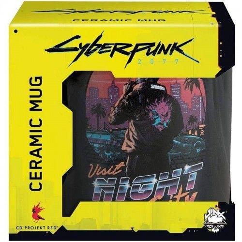 Kubek Cyberpunk 2077 Night City Sunset
