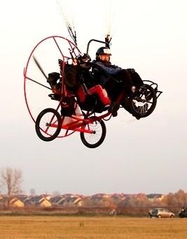 Lot motoparalotnią dla dwóch osób  Warszawa