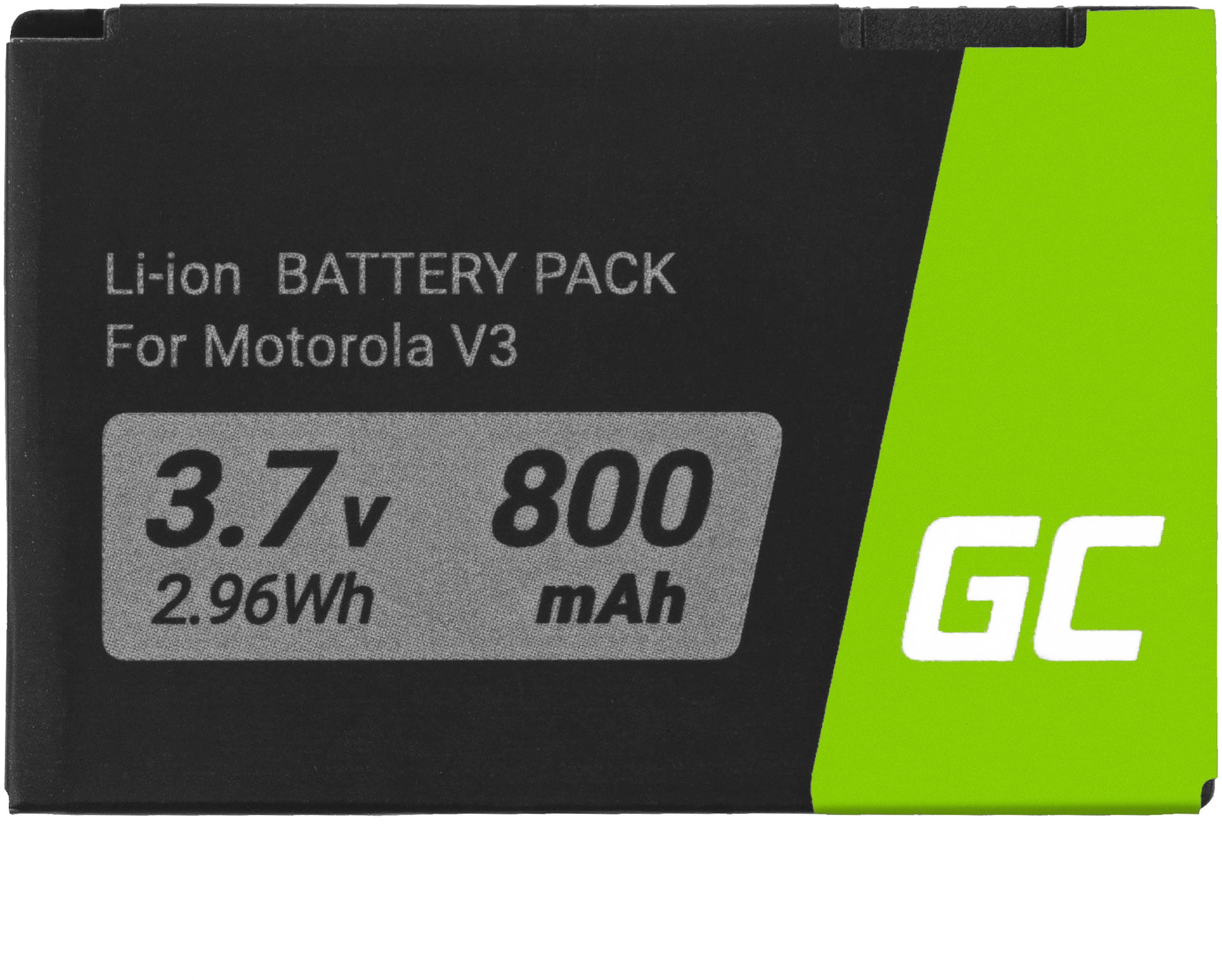 Bateria Green Cell BR50 do telefonu Motorola V3 / Razr V3