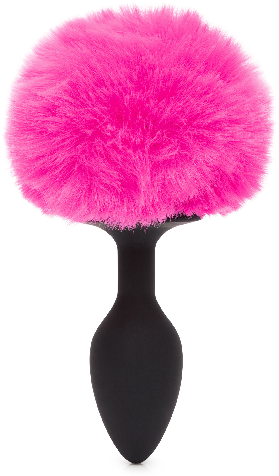 Happy Rabbit Butt Plug Black-Pink Small