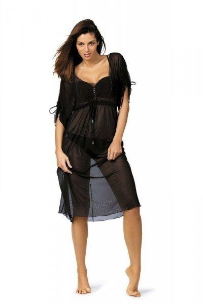 Tunika dora nero m-443 (2) sukienka plażowa