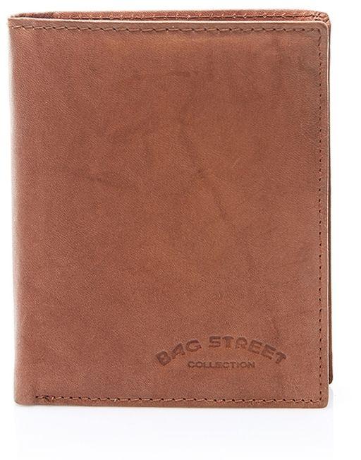 Duży portfel męski skórzany brązowy C70