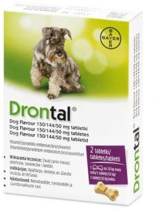 Bayer Drontal Dog Flavour 2 Tabletki