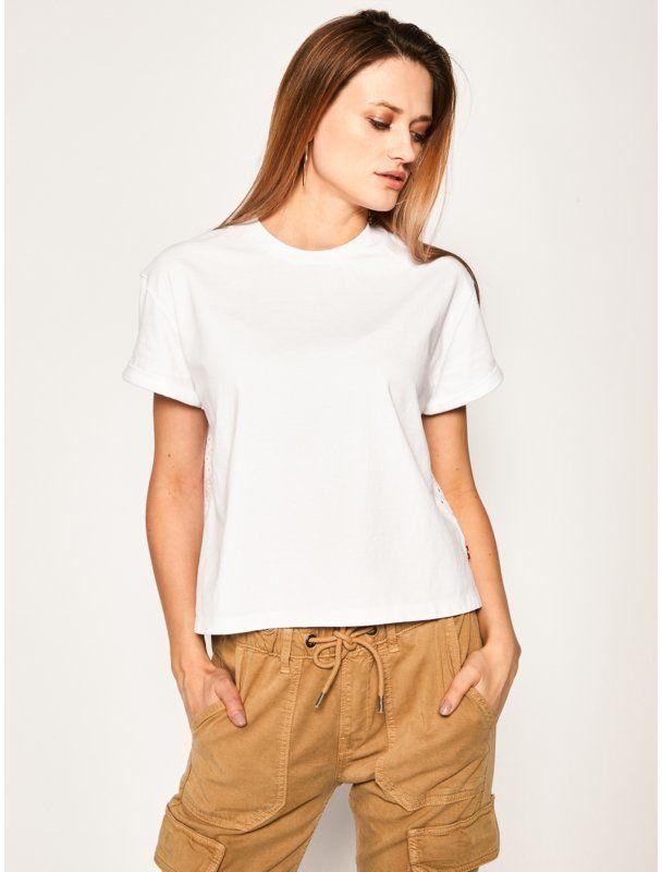 Levi''s  T-Shirt Veronica Tee 85783-0000 Biały Regular Fit