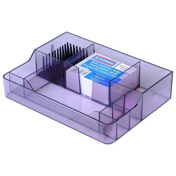 Przybornik na biurko DONAU z jeżem dymny - X07592