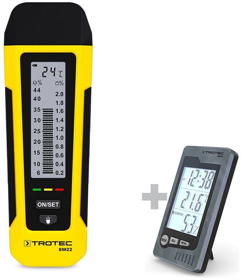 Miernik wilgotności BM21 + Termohigrometr BZ05