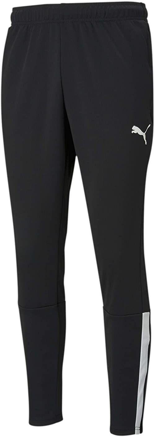 PUMA Męskie spodnie treningowe Teamliga spodnie z dzianiny Puma Black-Puma White XL