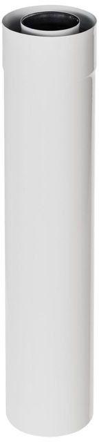 Rura 2-ścienna Spiroflex 60/100 mm biała 0,5 m