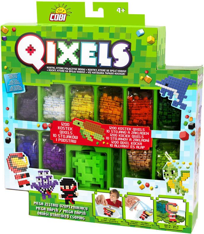 QIXELS - MEGA ZESTAW UZUPEŁNIAJĄCY METALIC PIXEL 3D 87074