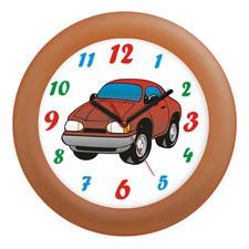 Zegar ścienny kolorowy auto