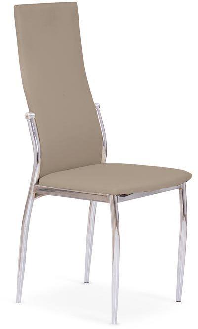 Krzesło K3 cappucino tapicerowane w nowoczesnym stylu  KUP TERAZ - OTRZYMAJ RABAT
