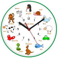 Zegar ścienny obrazki /animals I