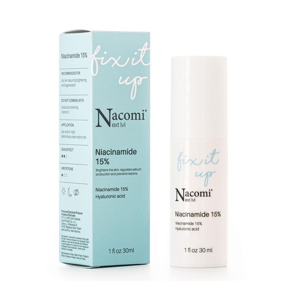 Serum Niacynamide 15% - 30ml - Nacomi