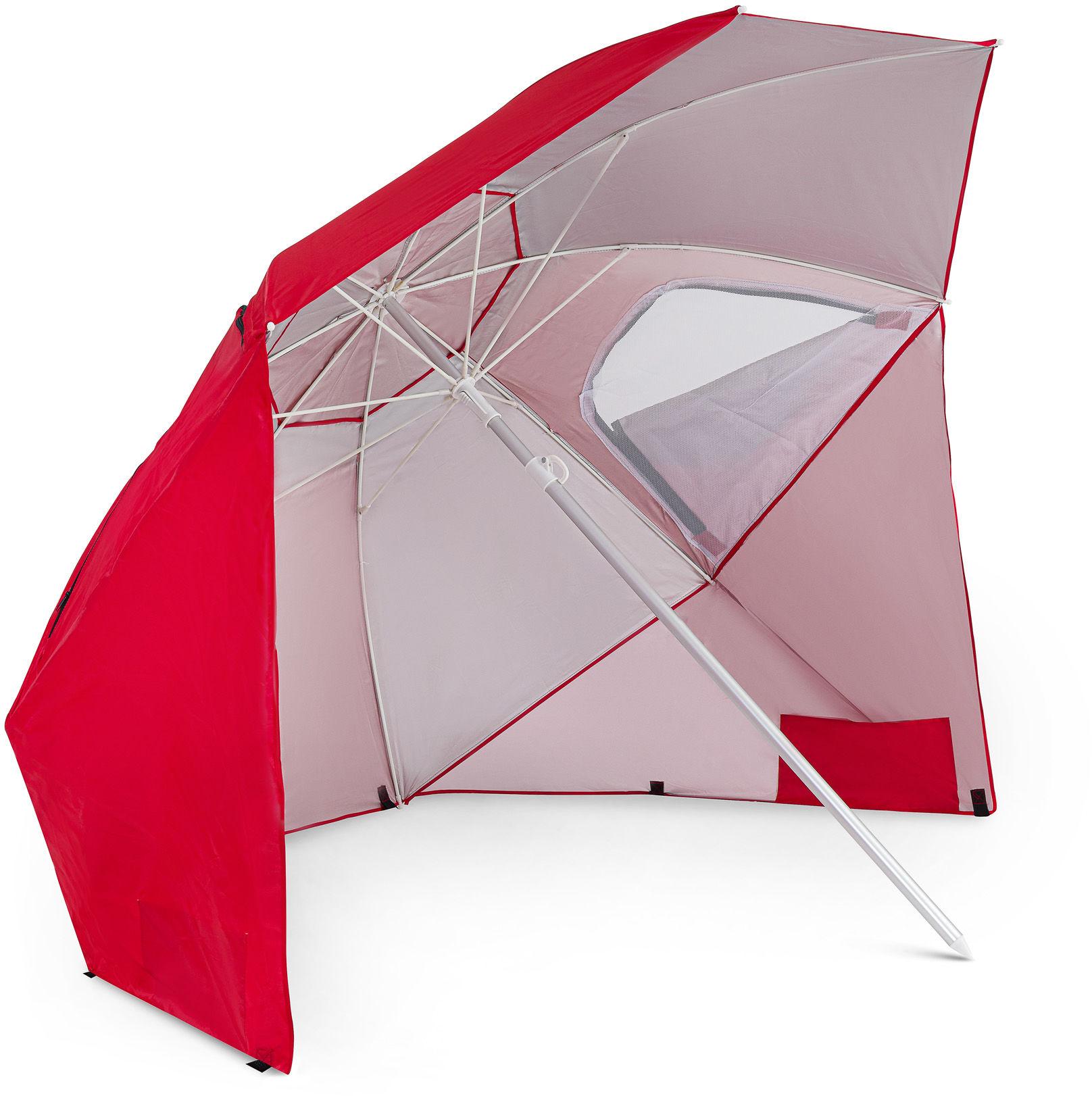 Parasol plażowy Sora - Czerwony