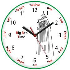 Zegar języki świata Big Ben