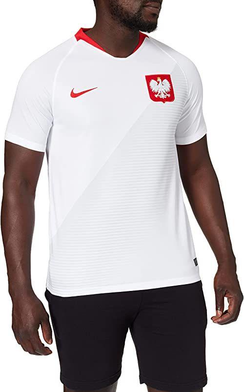 Nike Męska koszulka polo Home Stadium, biała (white/Sport red/Sport red), L