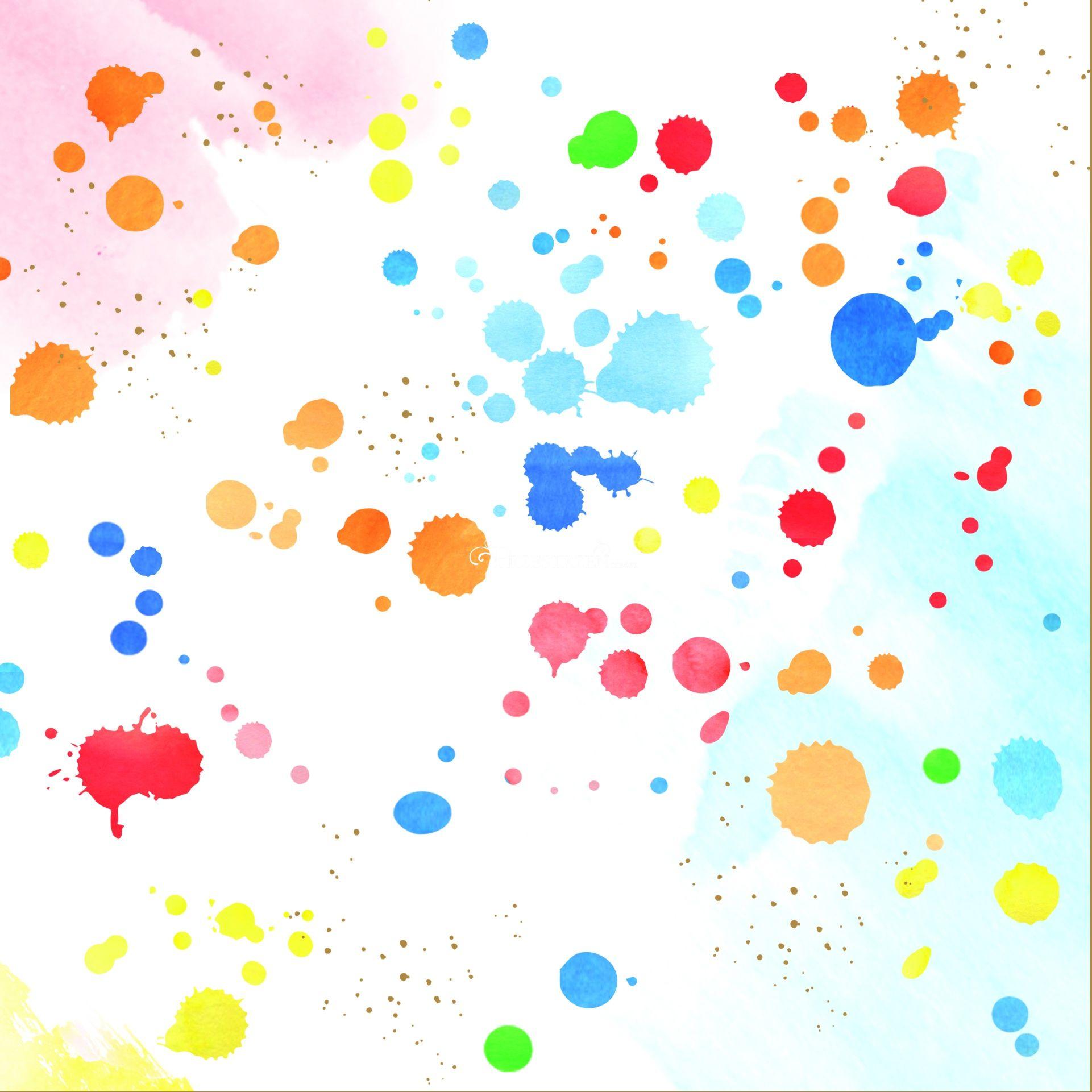 SERWETKI PAPIEROWE - Colour Splash - KOLOROWE PLAMKI