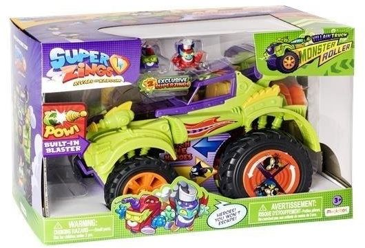 Super Zings - Monster Roller: Złoczyńcy