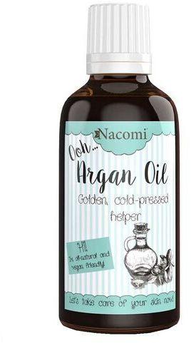 Olej arganowy zimnotłoczony, nierafinowany Nacomi ECO 30 lub 50 ml