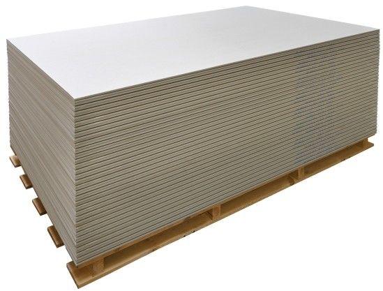 Płyta gipsowa zwykła 1200 x 2500 x 12,5 mm 3 m2