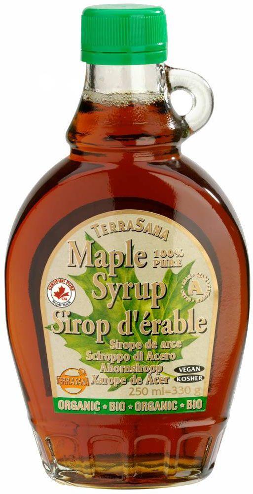 Syrop klonowy a bio 250 ml - terrasana
