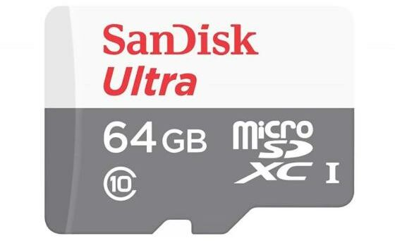 SanDisk Ultra microSDXC 64GB 100MB/S