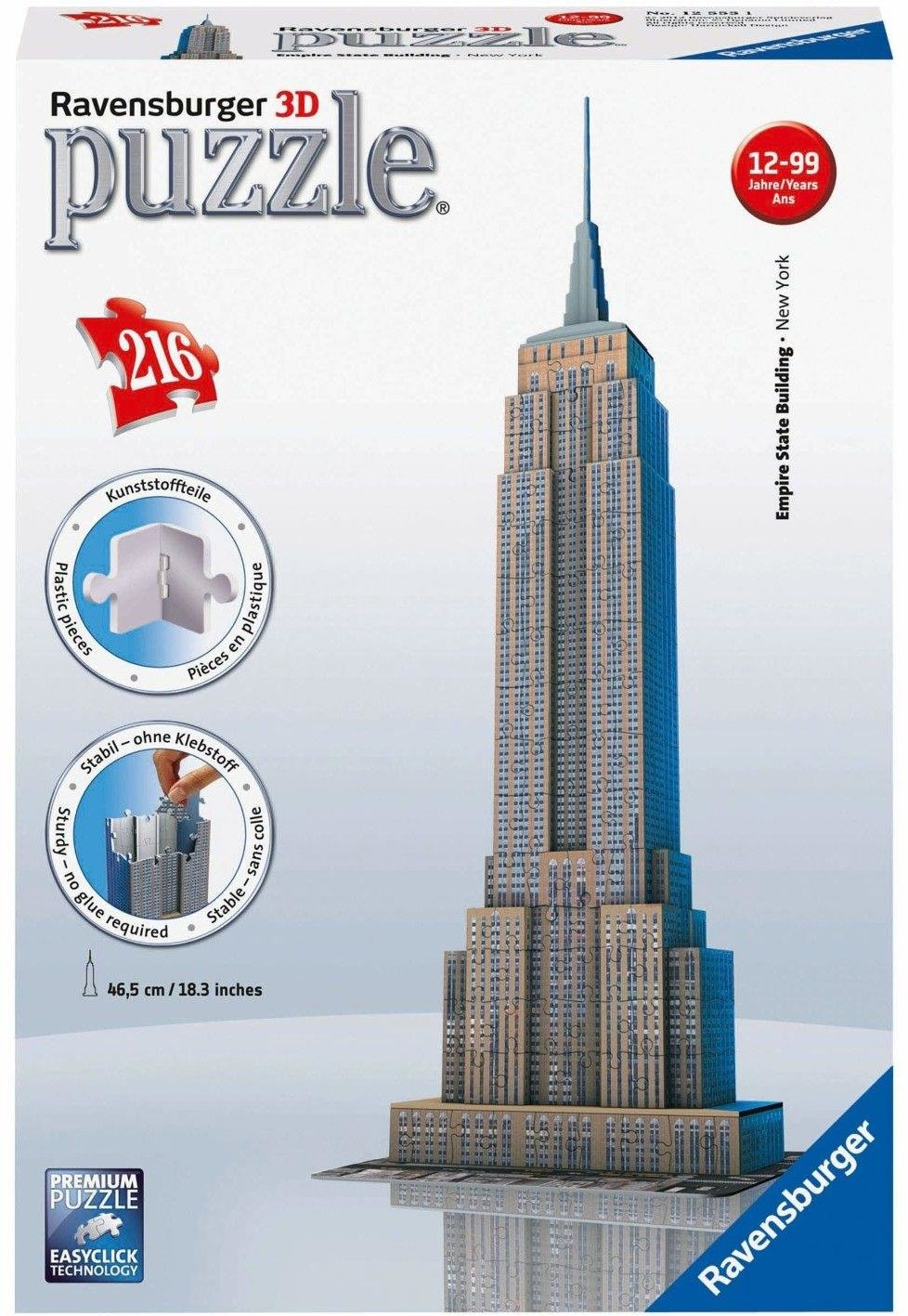 Ravensburger 216el. 3D Empire State Building 125531