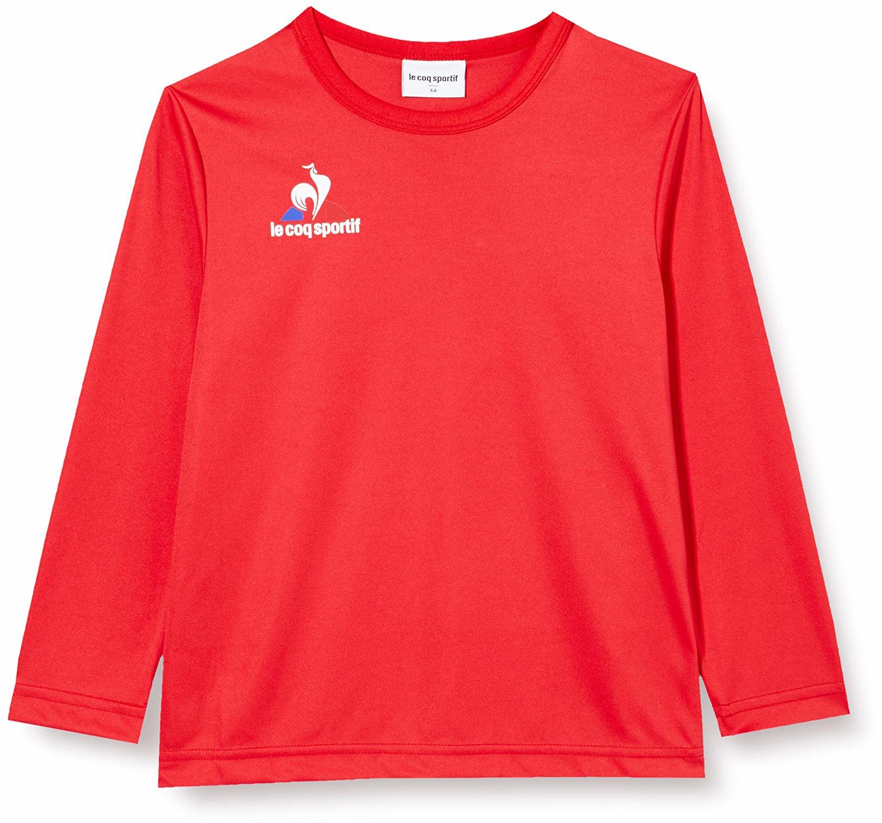 Le Coq Sportif N 1 Maillot Match Enfant Ml podkoszulek, czerwony (Vintage Red), 12A