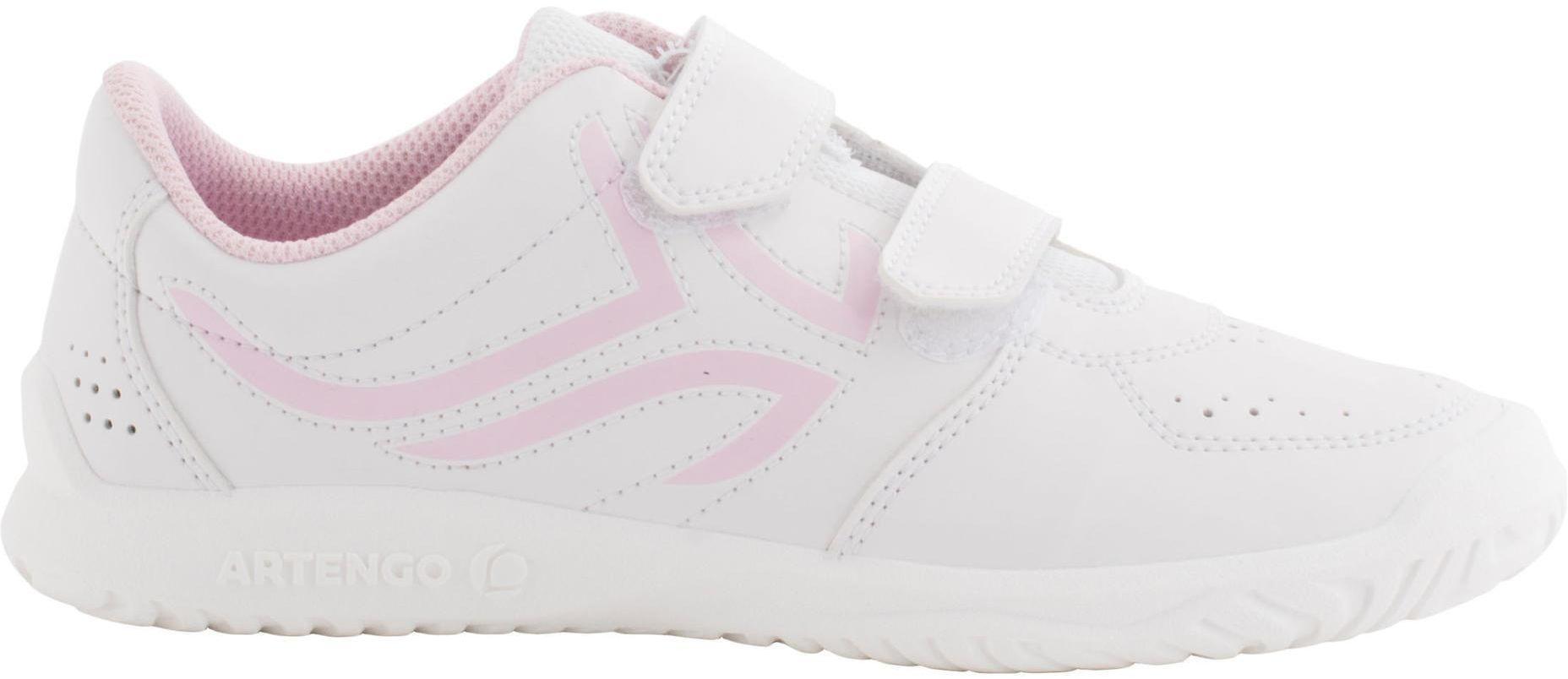 Buty tenisowe TS100 dla dzieci na rzepy