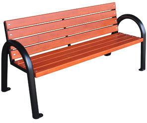 Ławka parkowa drewniana Classic IV