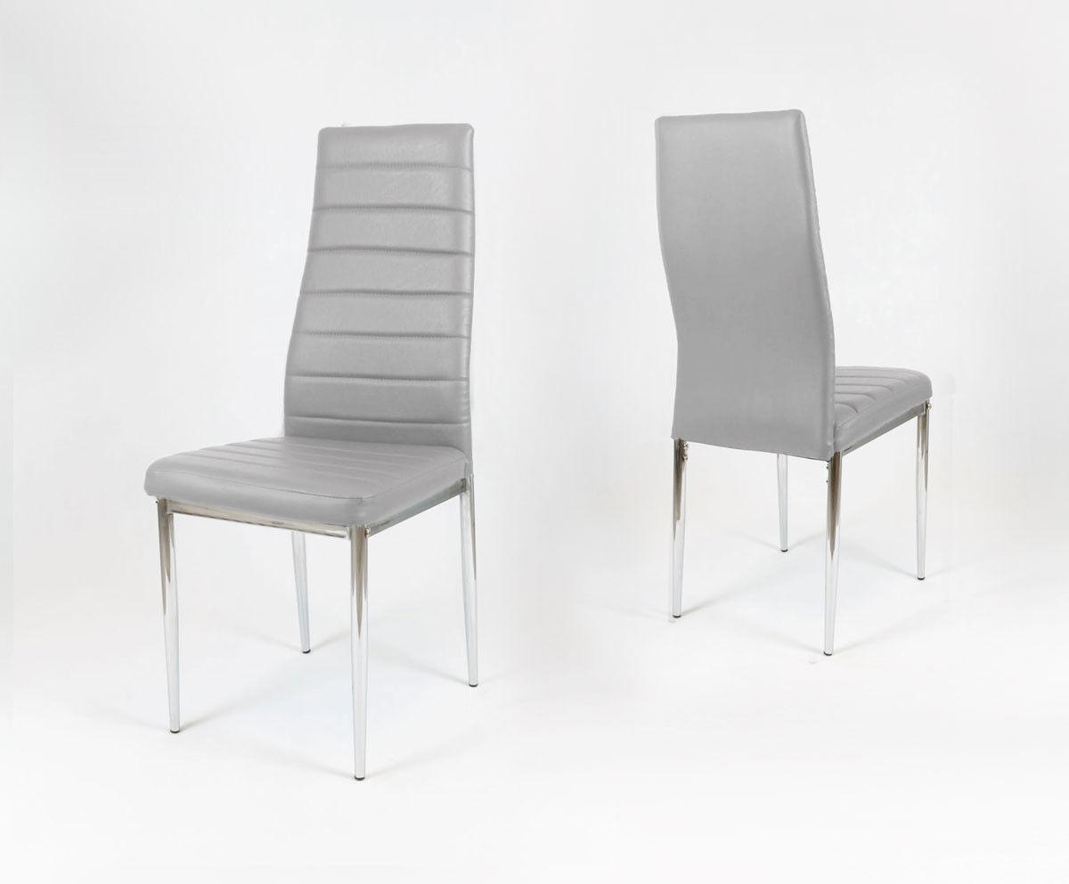 Krzesło Classic jasno-szare