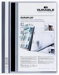 Skoroszyt prezentacyjny DURAPLUS szary A4 2579 10