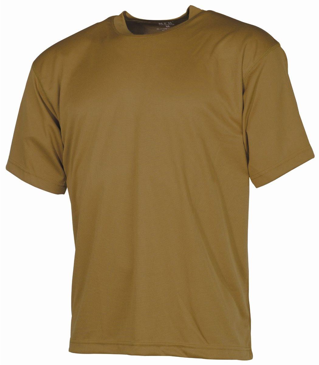 Koszulka T-shirt MFH Tactical Coyote Tan (00107R)