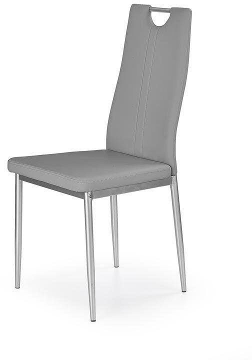 Krzesło K202 szare  Kupuj w Sprawdzonych sklepach