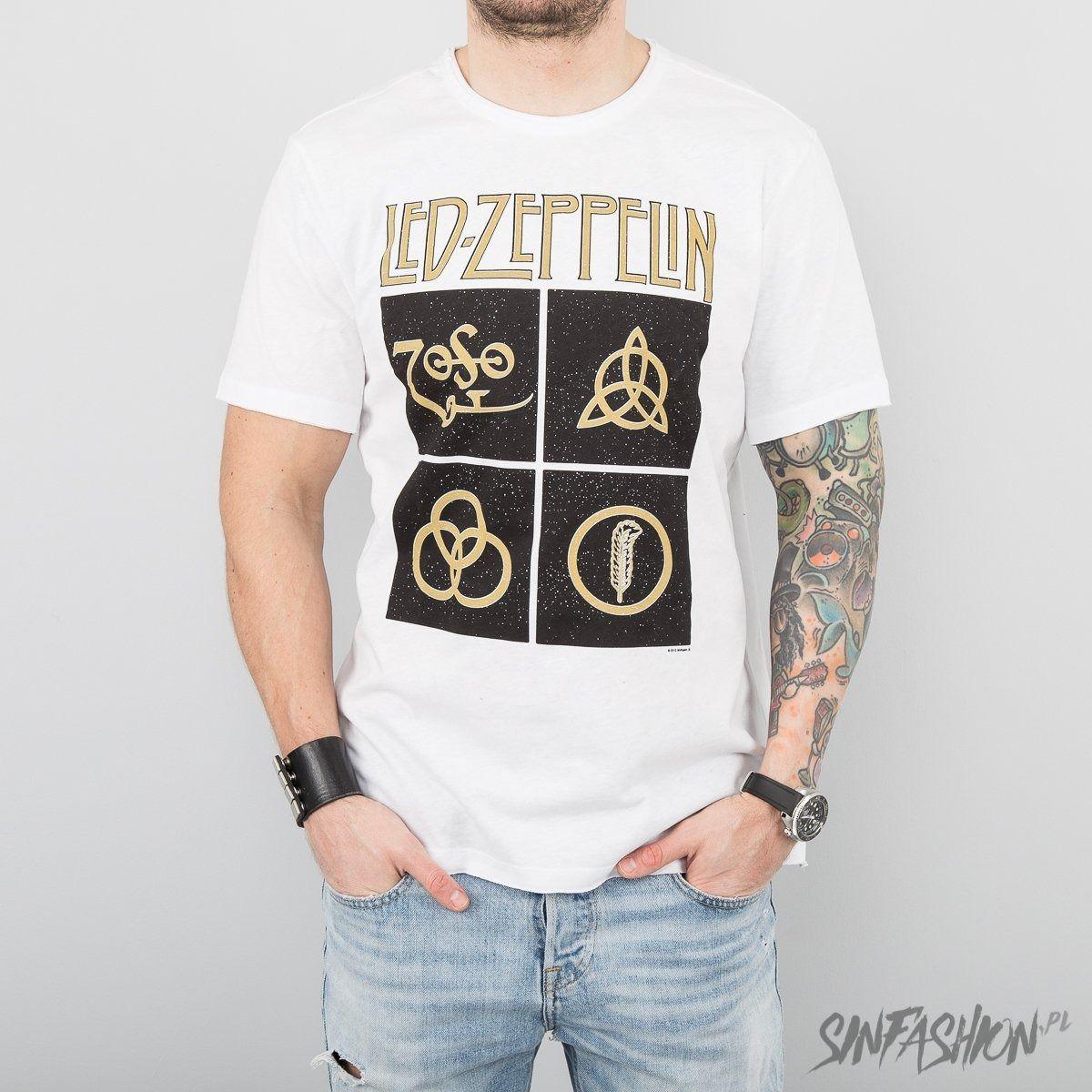 Koszulka amplified led zeppelin symbols