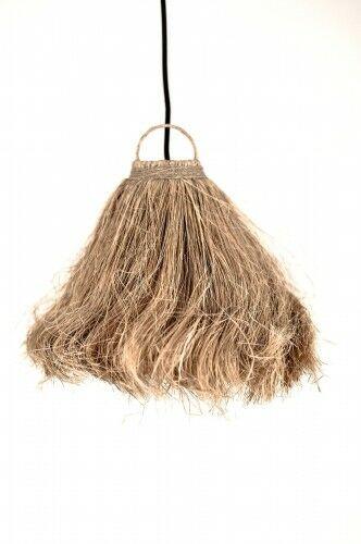 Lampa z kokosa