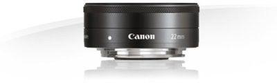 Canon EF-M 22mm f/2 STM Czarny