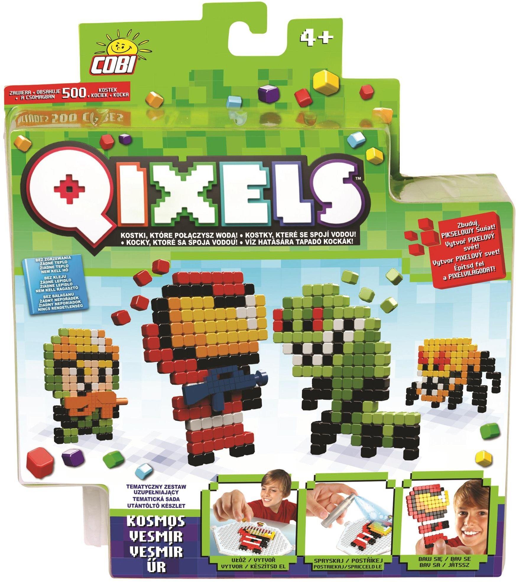QIXELS - Zestaw uzupełniający - KOSMOS - 87013