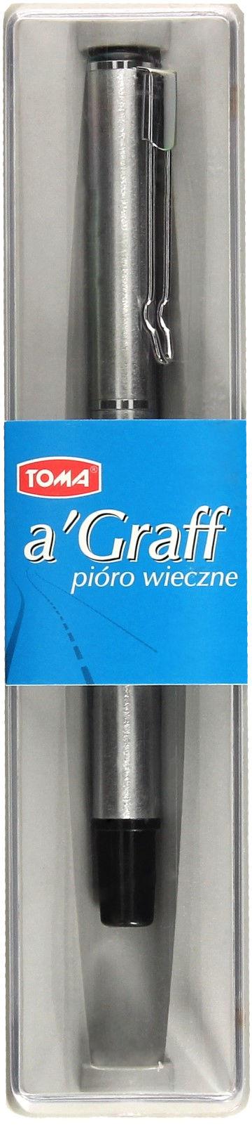 Pióro wieczne srebrne AGraff TOMA 825