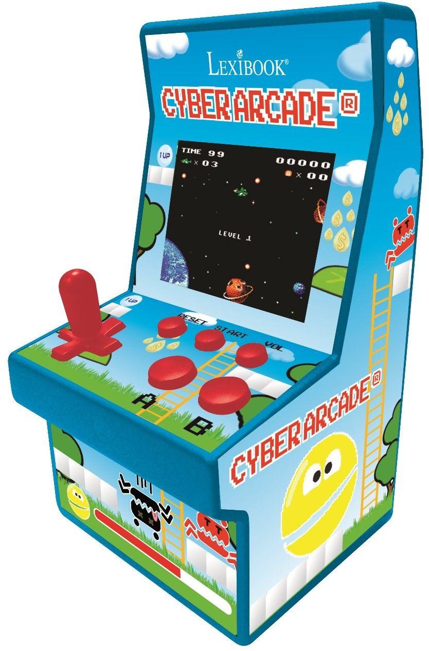 "Lexibook Konsola do gier w stylu retro Cyber Arcade  200 gier, kolorowy ekran LCD 2,8"" JL2940"