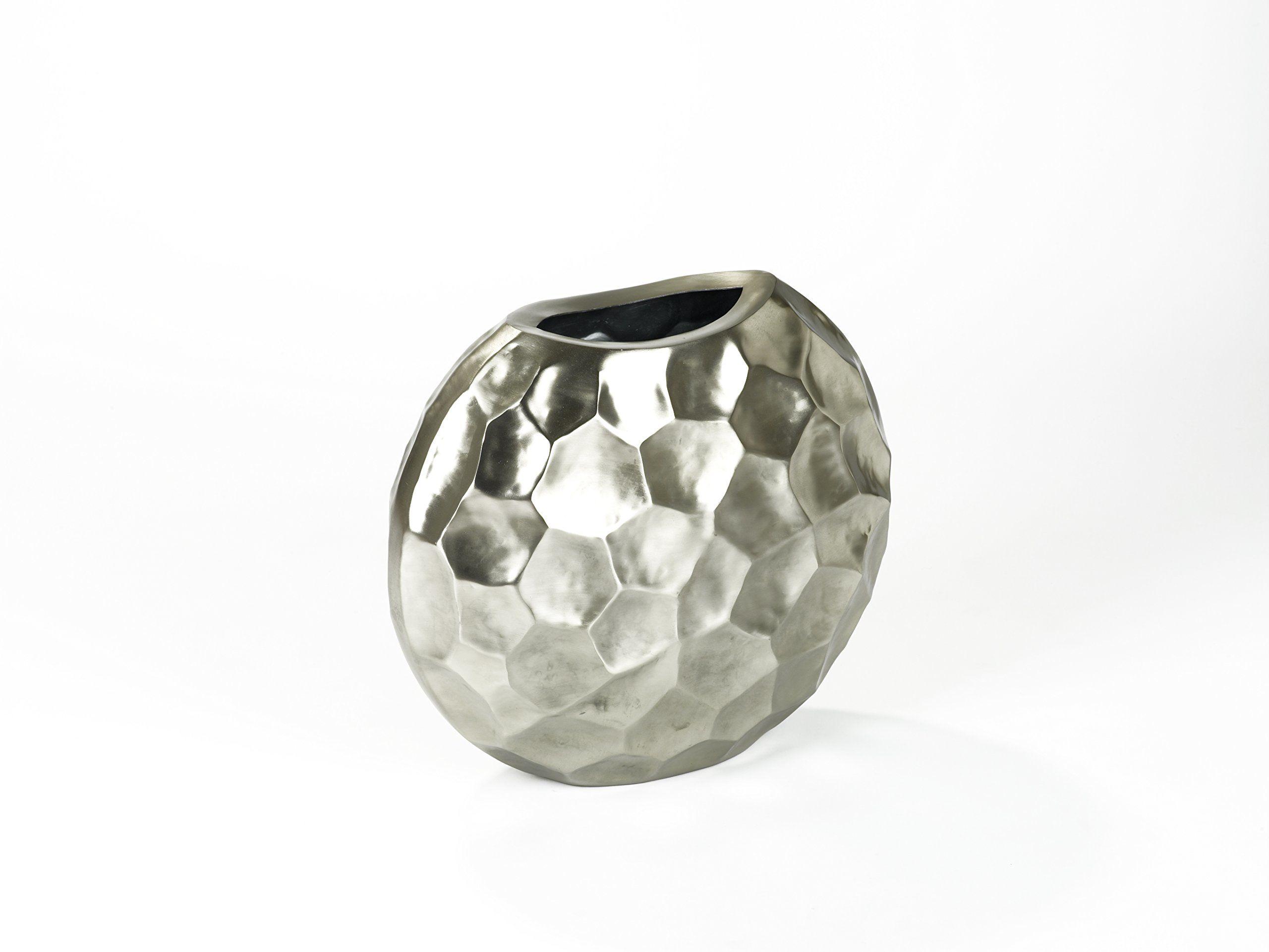 Lambert Farah naczynie aluminiowe, 25 x 50 cm, wys. 44 cm, kolor srebrny, jeden rozmiar