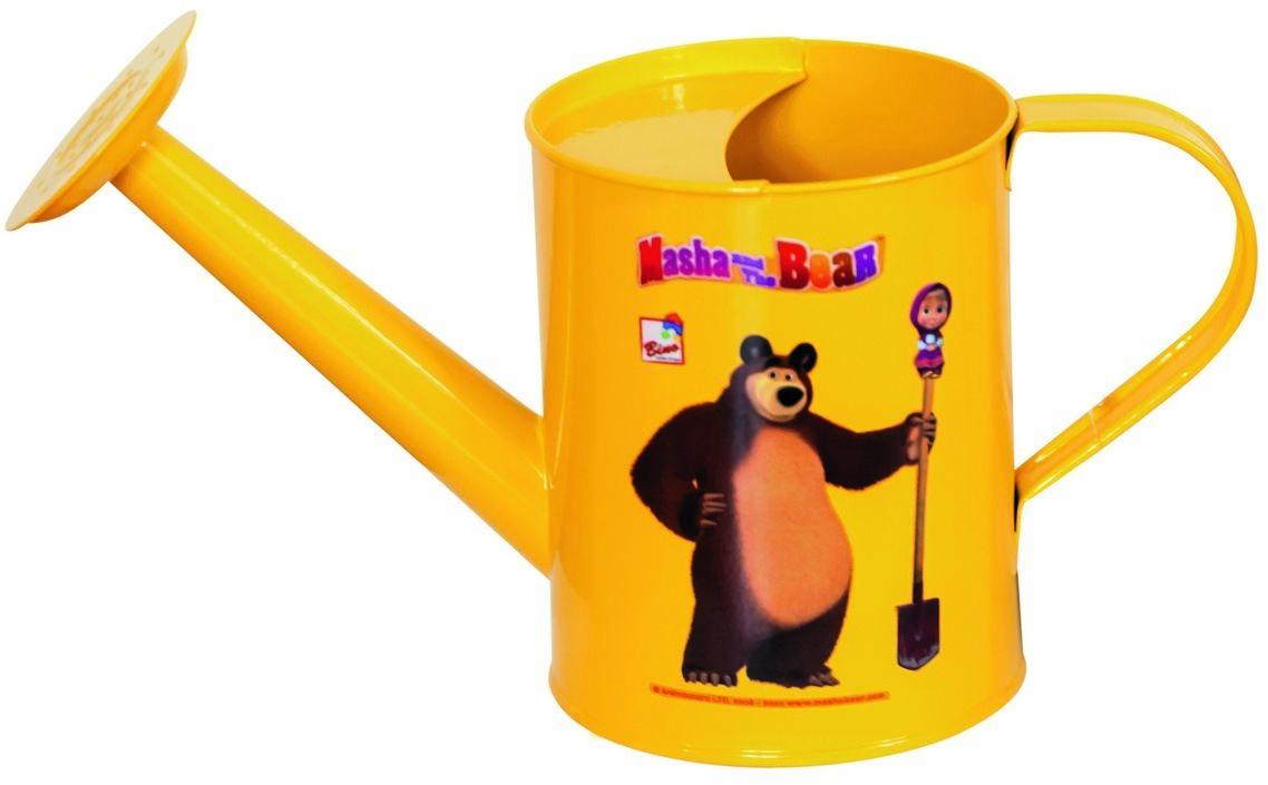 Bino Konewka Masza i Niedźwiedź żółty, 25 cm