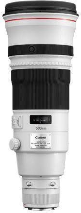 Canon EF 500mm f/4.0 L IS II USM Biały