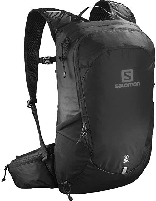 Salomon Unisex Plecak do Biegania Trailblazer 20, Czarny, 20 l, LC1048400