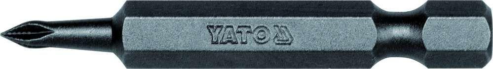 Końcówki wkrętakowe 1/4''x50 mm, ph0, 50 szt Yato YT-7846 - ZYSKAJ RABAT 30 ZŁ