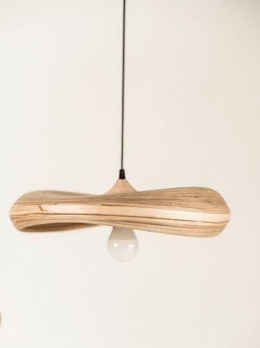 Bambusowa lampa Stella