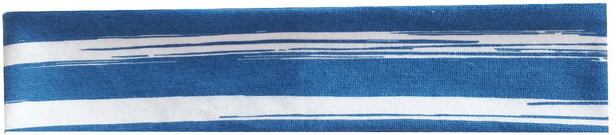 Opaska PROSTA Niebieskie pasy