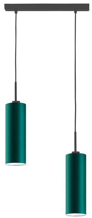 Regulowana lampa wisząca LED z czarnym stelażem - EX365-Maderix - 18 kolorów